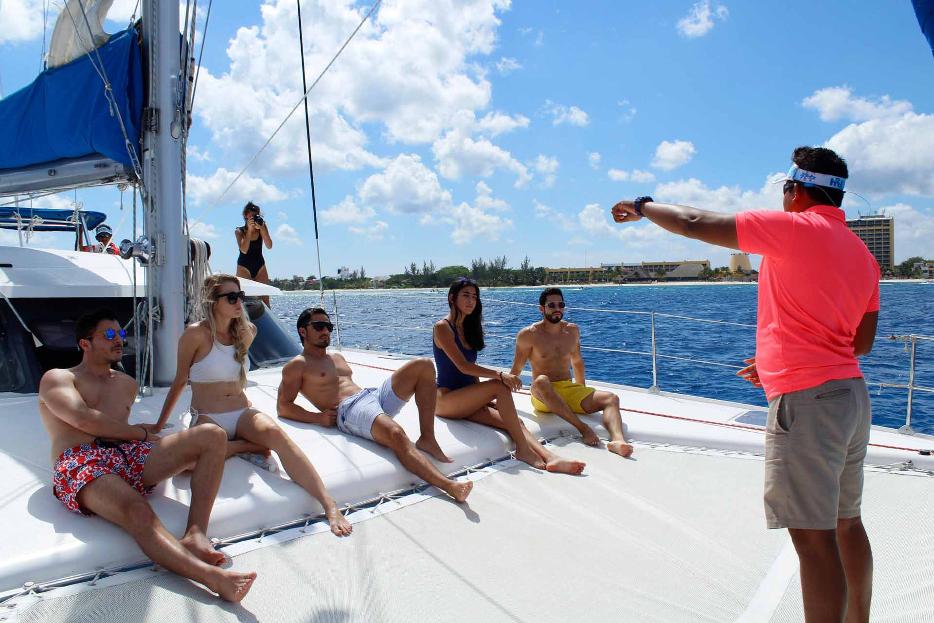 Catamaran Tour Cozumel